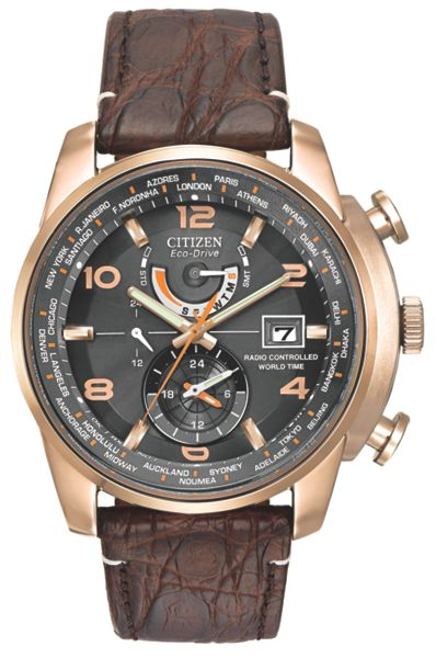 Citizen AT9013-11E mens strap watch
