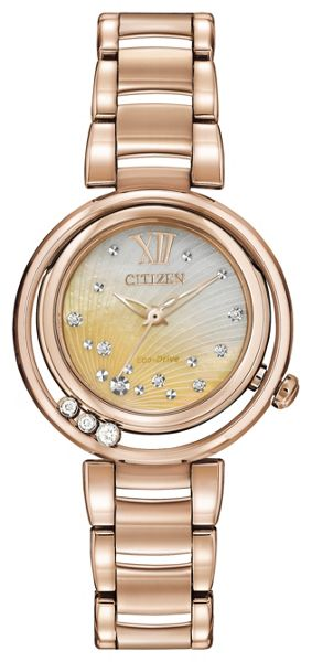 Citizen Em0323-51n eco-drive bracelet watch