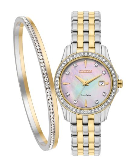 Citizen EW1908-59DST ladies gift set