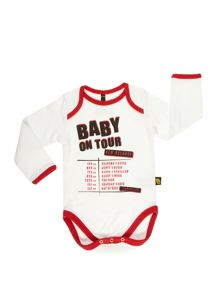 Rockabye Baby Babys On Tour Bodysuit
