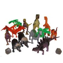 Dinosaur figures tub 20 pieces