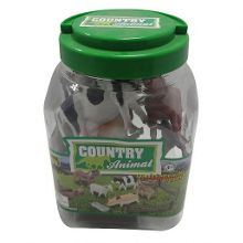 Country animal figurines