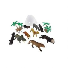 Jungle animal figurines