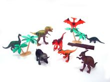 Prehistoric animal figurines