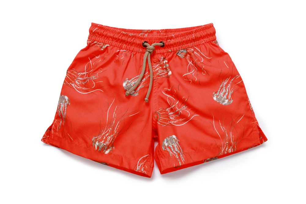 Boy`s jellyfish swim short