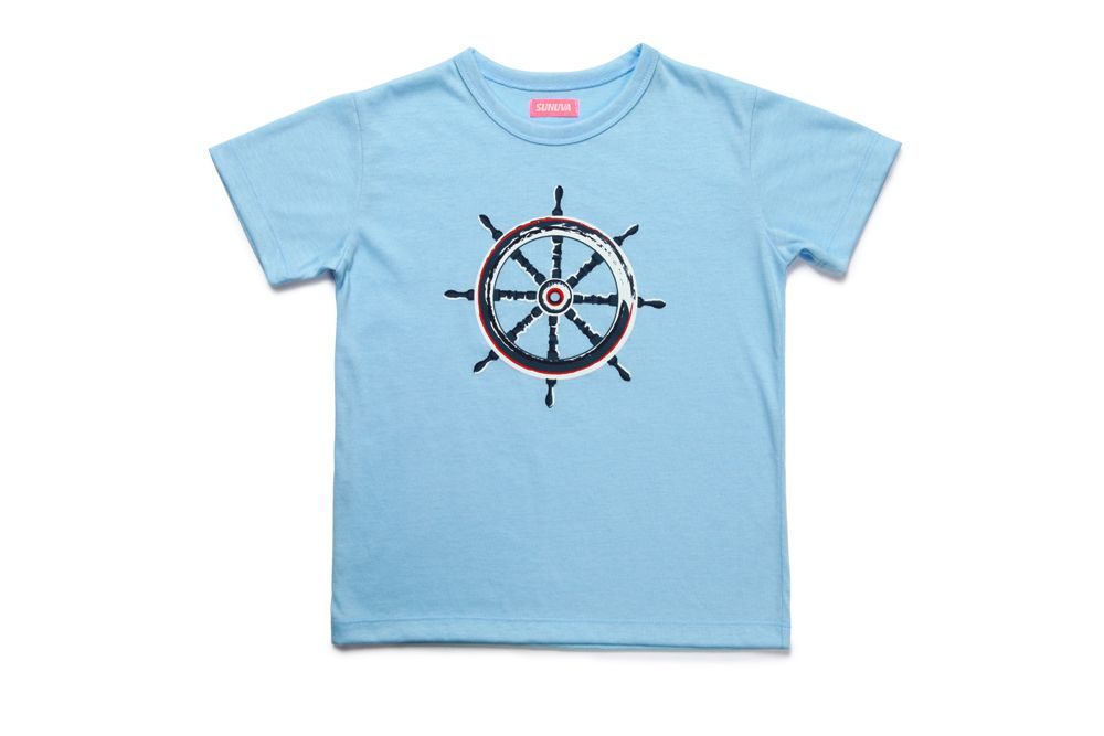 Boy`s nautical t-shirt