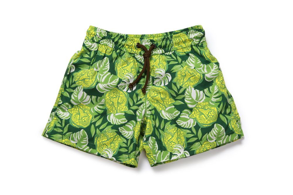Boy`s tiger swim short