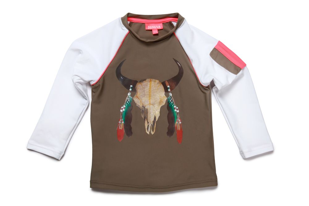 Boy`s buffalo rash vest