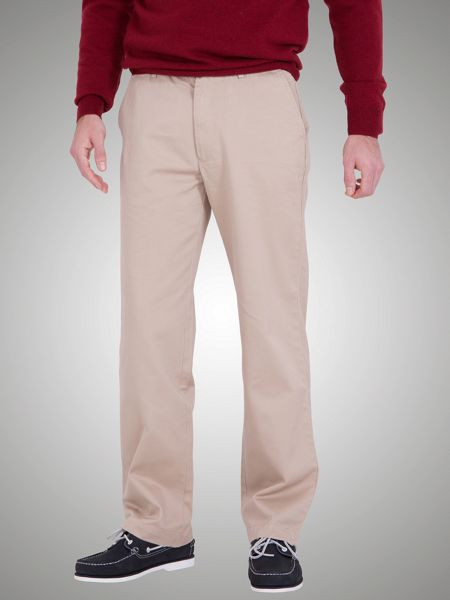 Raging Bull Raging bull tailored flat front chino trousers.