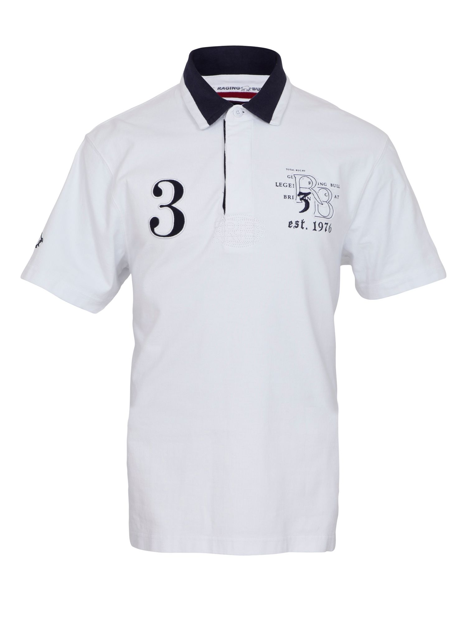 Applique rugby shirt