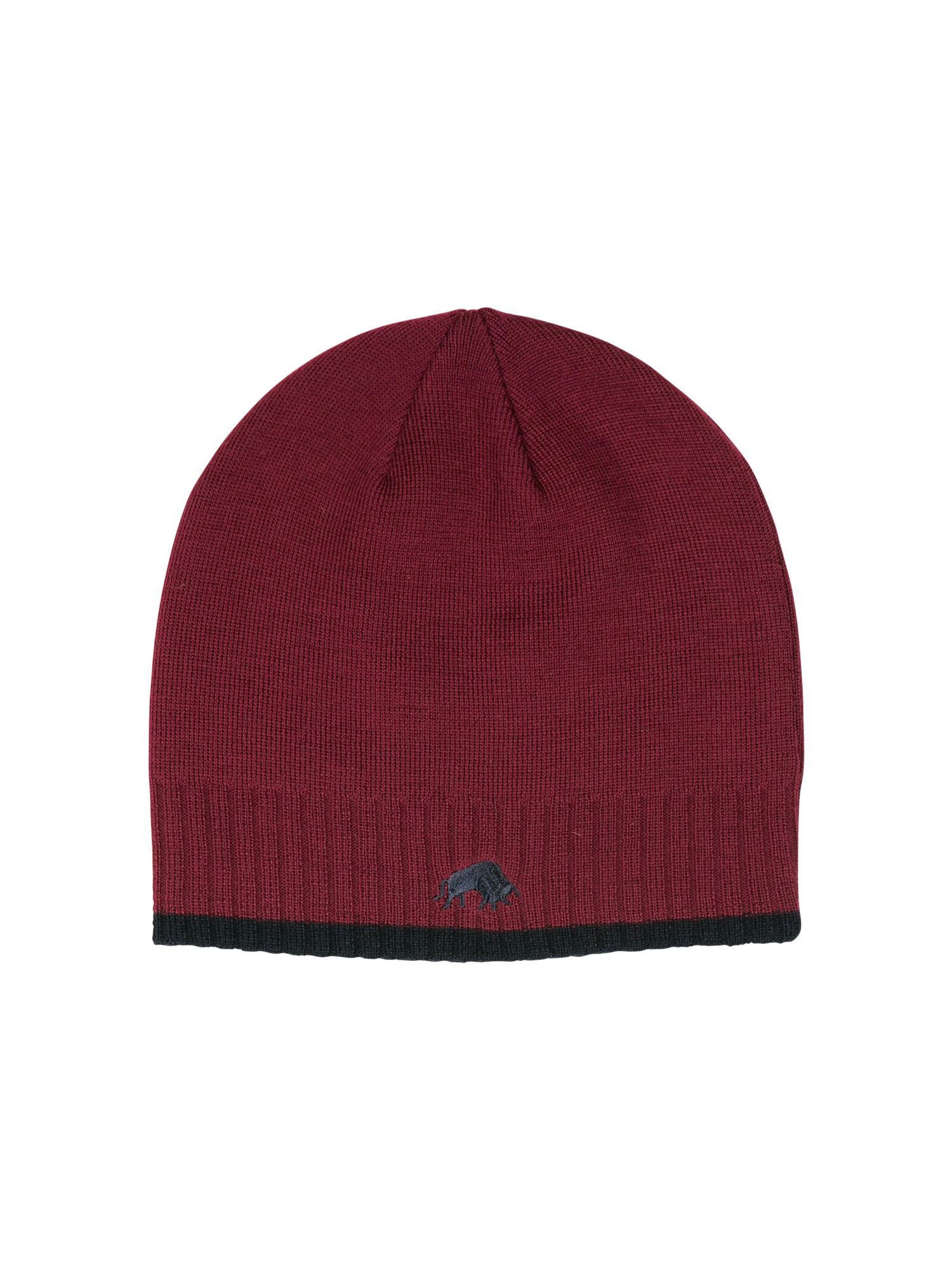 Rb wool hat claret
