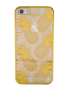 Skinnydip iPhone 5 gold pineapple