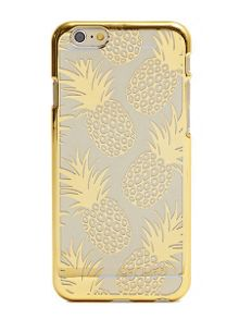 Skinnydip iPhone 6plus gold pineapple