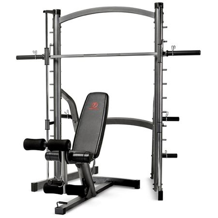 Marcy Deluxe smith machine system
