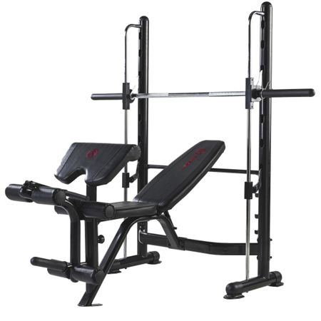 Marcy Eclipse rs3000 olympic half smith machine