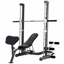Tunturi Pure compact smith machine weight bench with fold