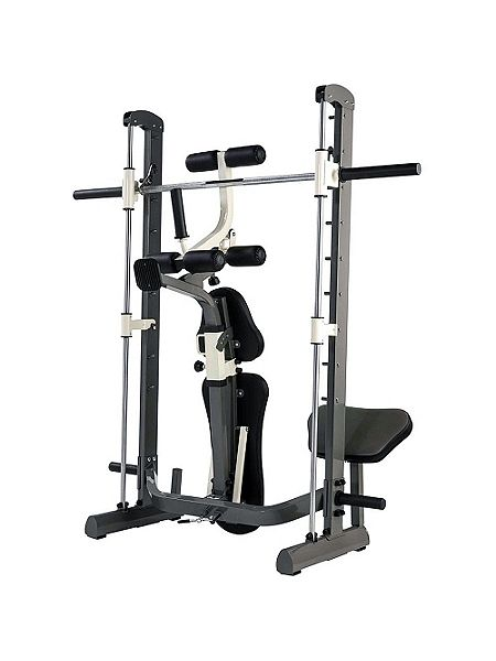 Tunturi Pure Compact Smith Machine Weight Bench With Fold House Of Fraser