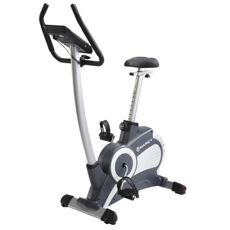 Marcy Deluxe upright exercise bike with 12 programmes