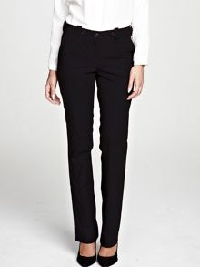 Black trousers in special fabric