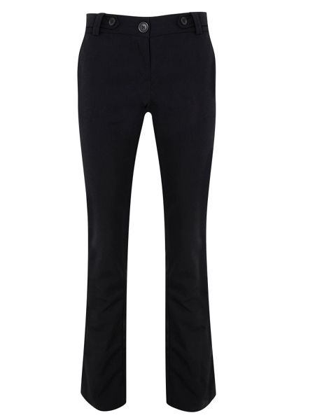HotSquash Black trousers in special fabric