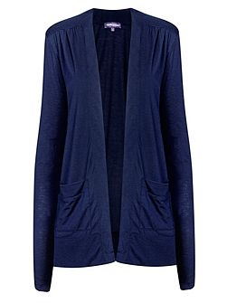 Longline cardigan with CoolFresh