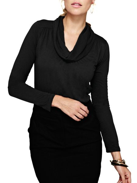 HotSquash Cowl neck top with ThinHeat