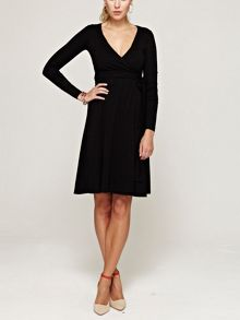 HotSquash Wrap dress in thinheat fabric