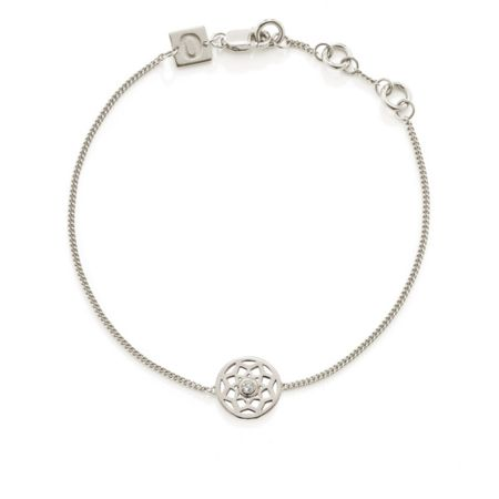 OAK Little dreamer white topaz bracelet