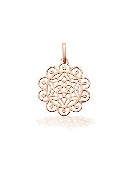 Amazing dreams rose pendant charm