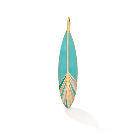 OAK Feather of happiness pendant charm