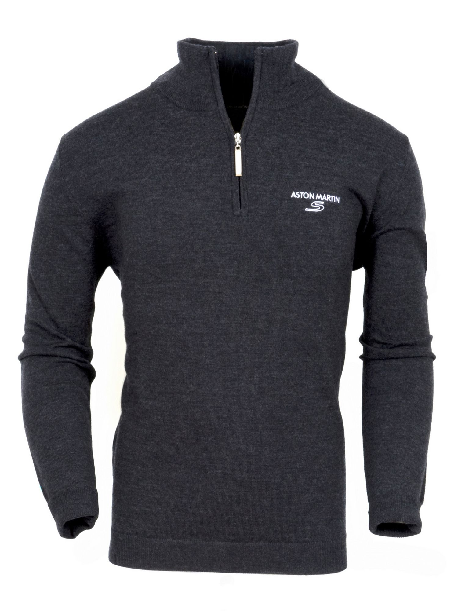Aston Martin Zip Top Merino Sweater