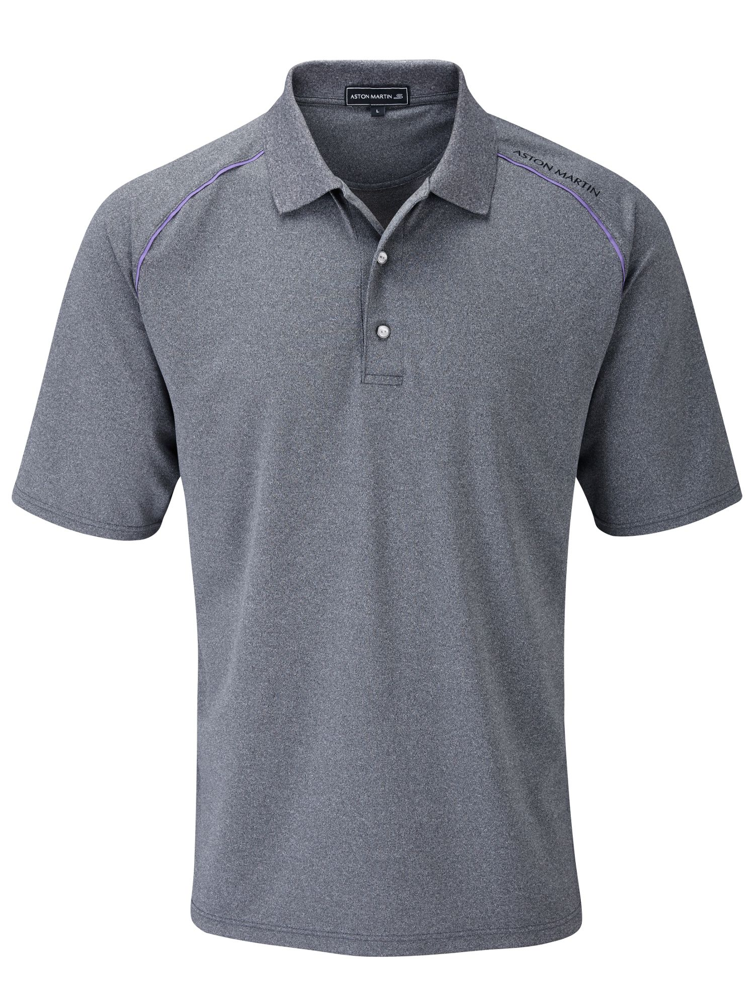 Raglan sleeve polo shirt