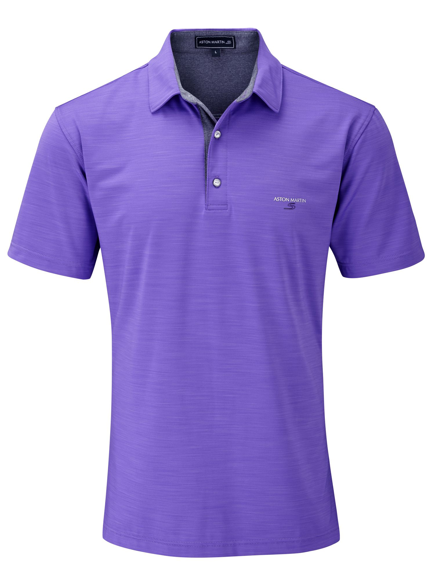 3 Tone slub polo shirt