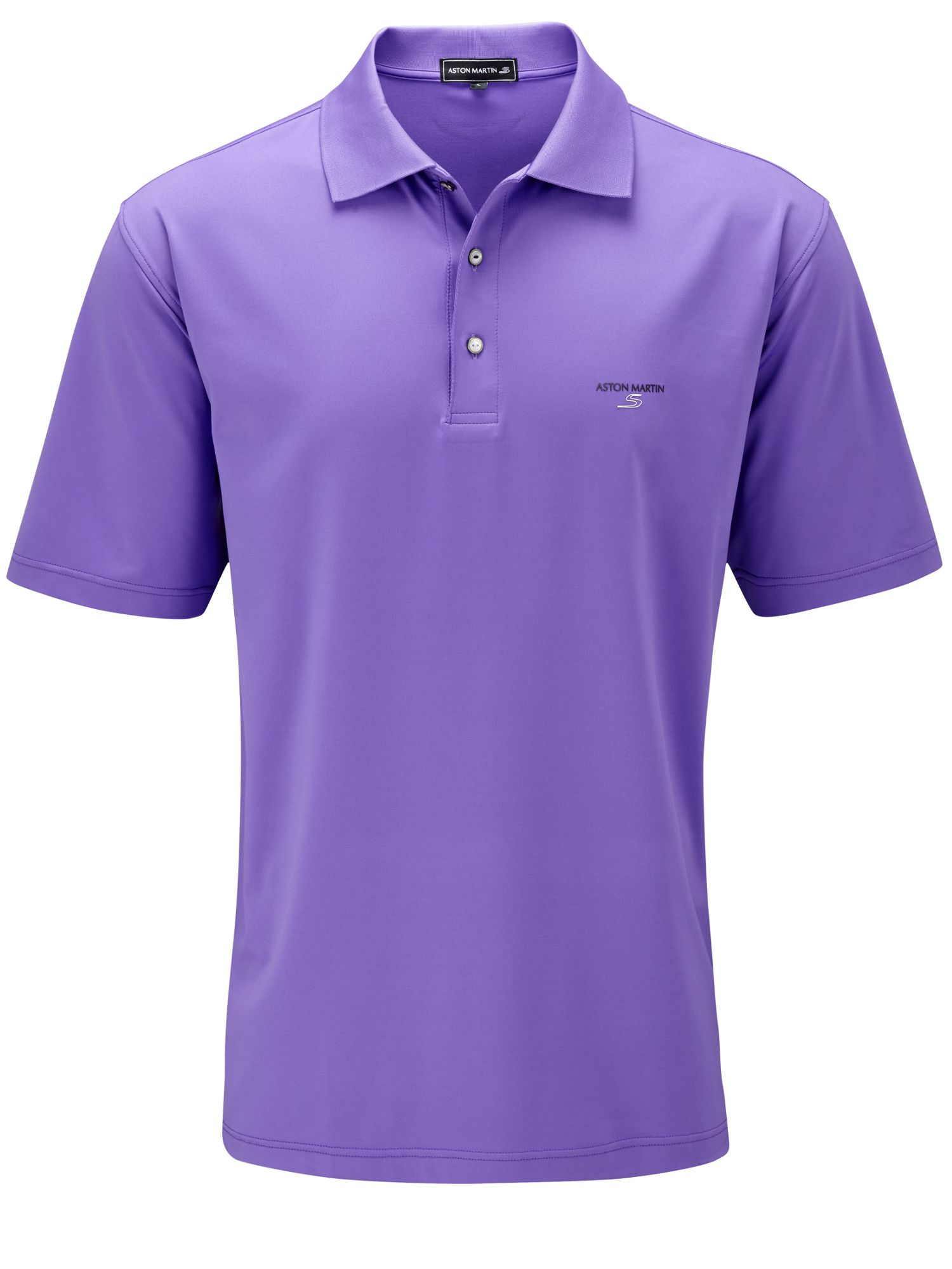 Performance solid polo shirt