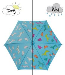 Holly & Beau Cats and Dogs Colour Change Umbrella