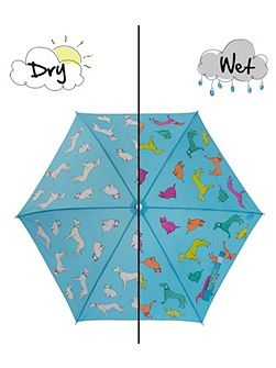 Cats and Dogs Colour Change Umbrella
