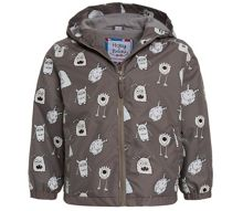 Holly & Beau Boys Monster Colour Change Rain Coat