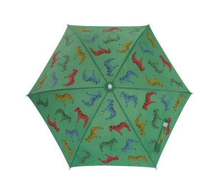 Holly & Beau Zebra Colour Change Umbrella