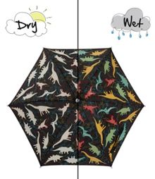 Holly & Beau Dinosaur Colour Change Umbrella