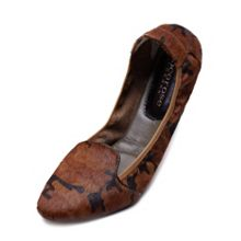 Farringdon camo brown leather foldable loafer