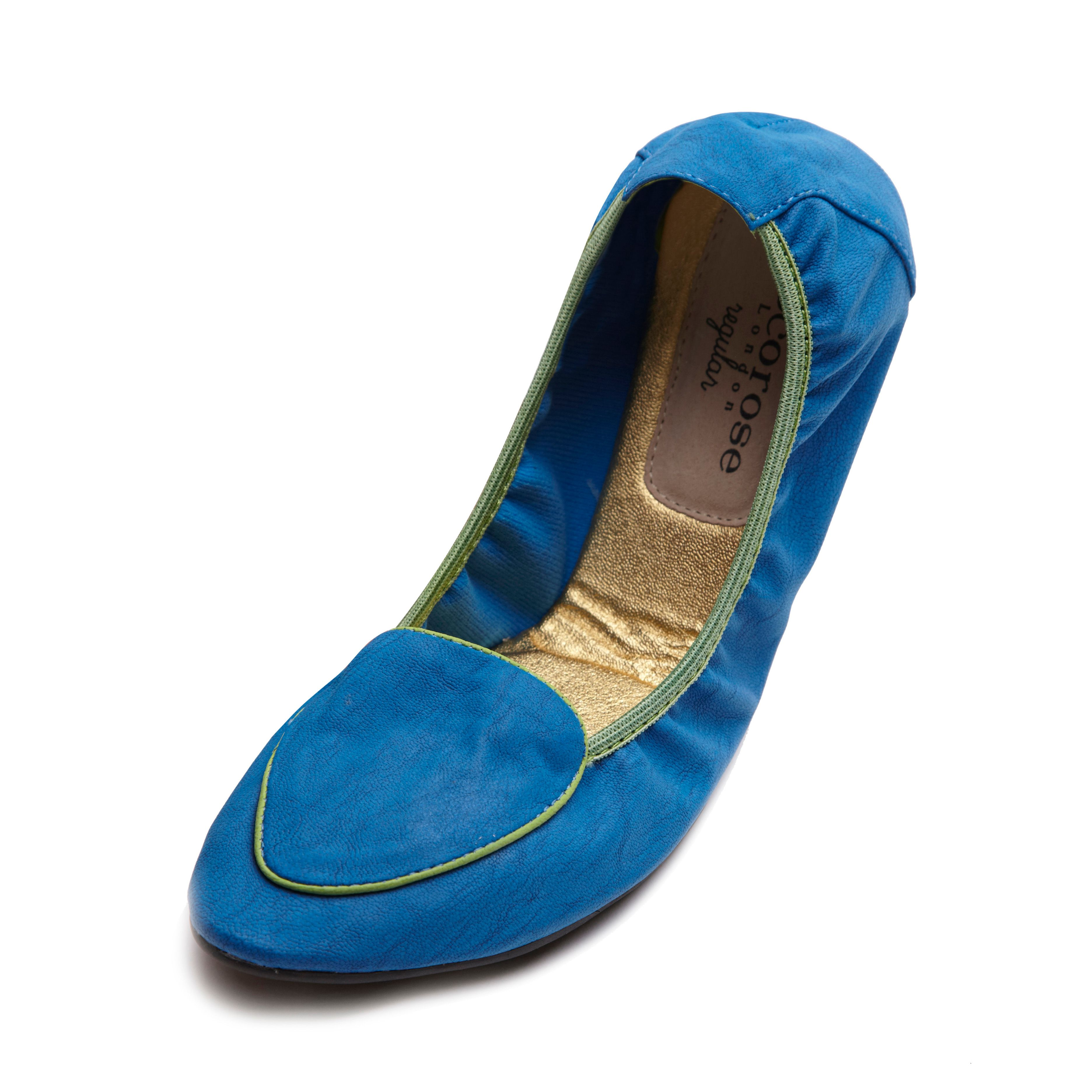 Islington blue foldable loafer