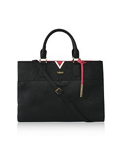 Avant vegan carryall laptop bag