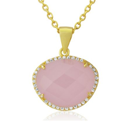 LaBante Gold pink necklace