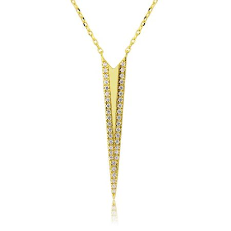LaBante Gold arrow pendant necklace