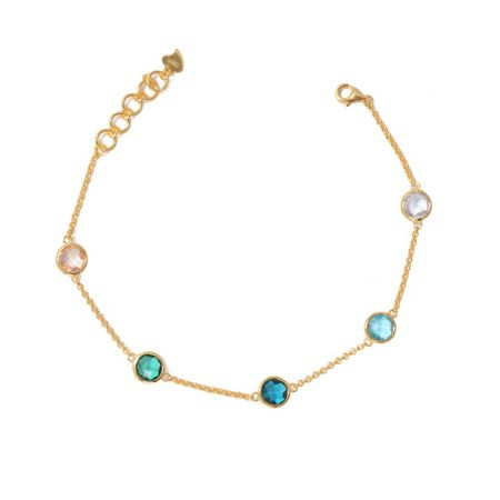 LaBante Gold multi colour bracelet