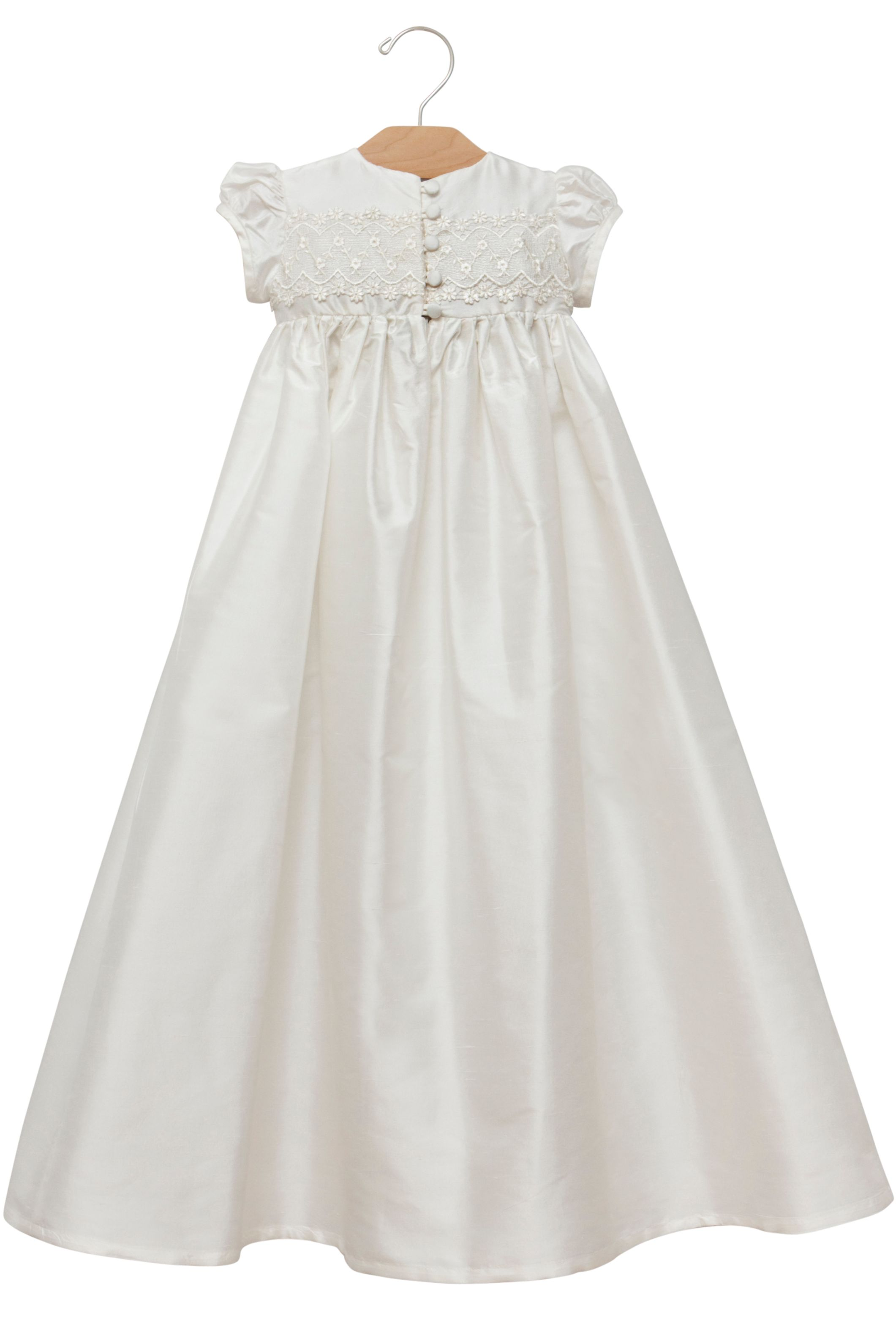 Girl`s christening gown