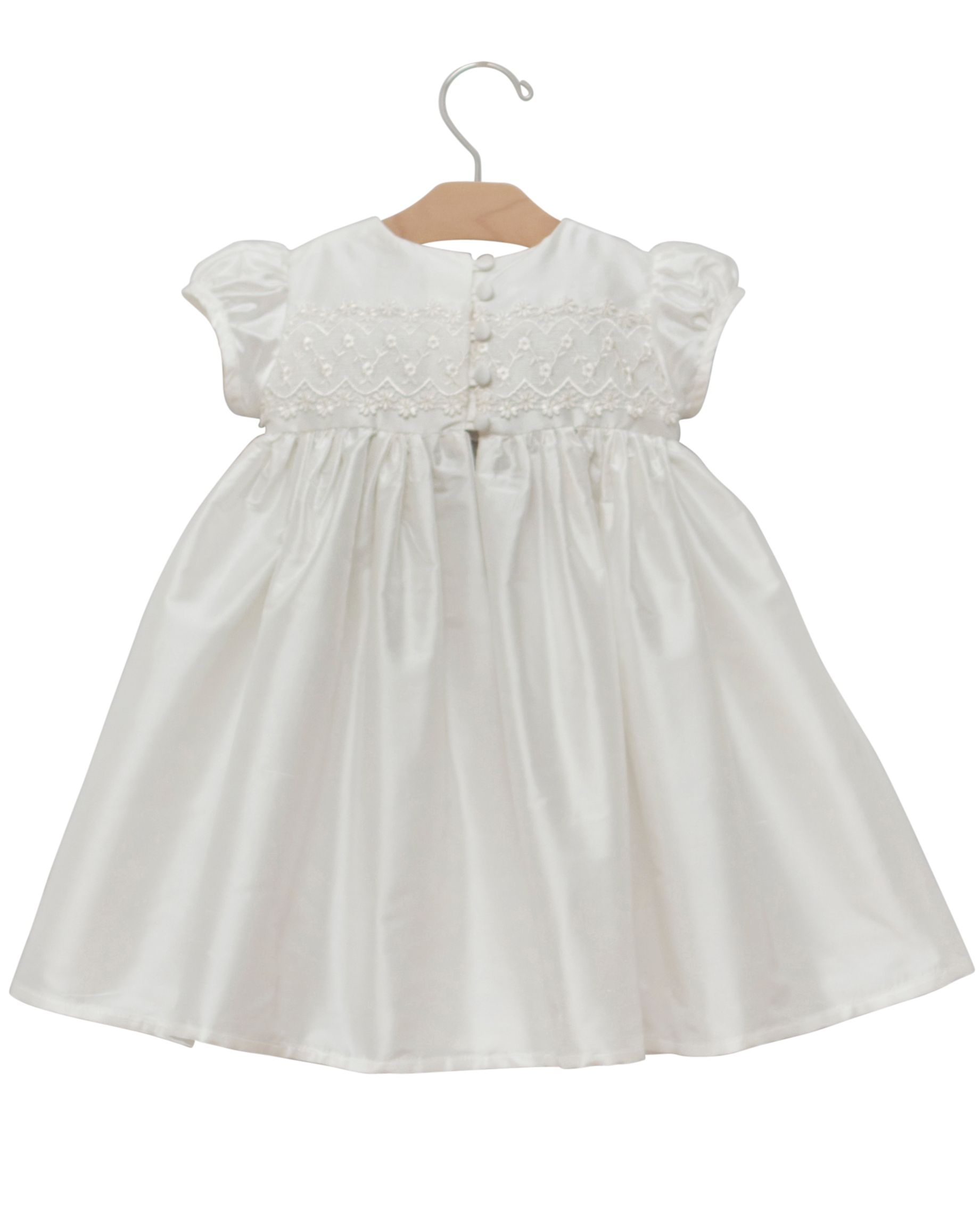 Girl`s christening dress