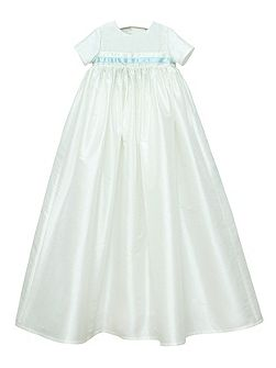 Baby boys ivory harry gown