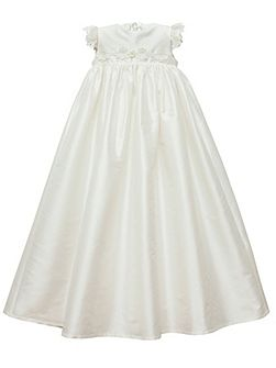 Baby girls ivory darcy gown