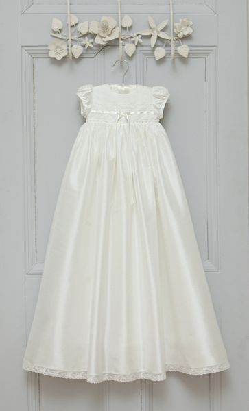 Adore Baby Baby girls ivory violet gown